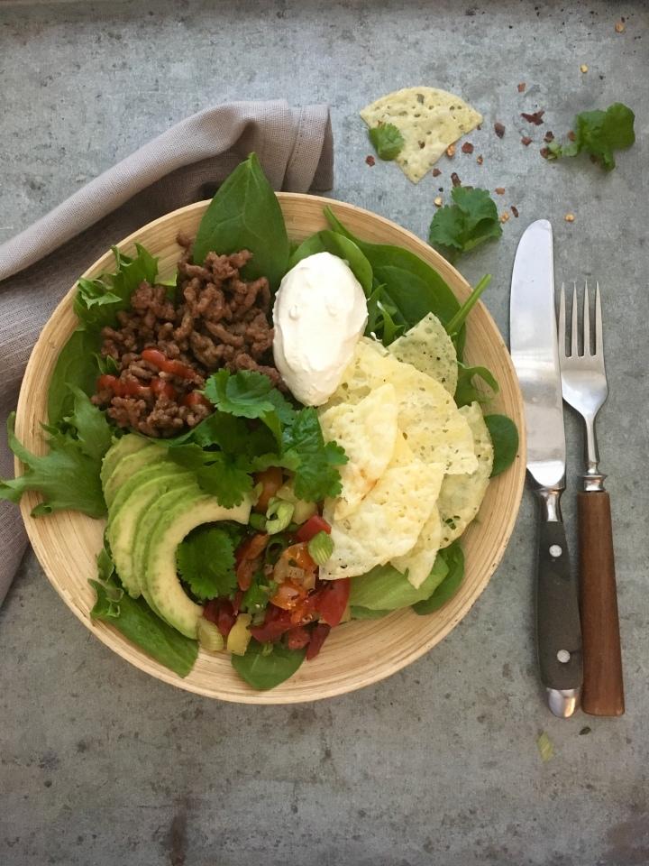 Fajita-salaatti (Fajita salad)